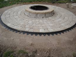 Round Patio Pavers by Manificent Design Pavers For Fire Pit Charming Long Island Paver