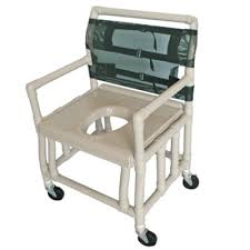 Shower Chairs With Wheels Pvc Bariatric Shower Commode Chair Heavy Duty Extra Wide