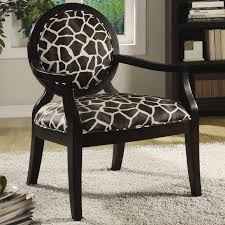 Leopard Print Chaise Living Room Animal Print Accent Chair Chairs Foter Desk Leopard