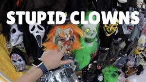 clown costumes spirit halloween i hid all the clown costumes in walmart youtube