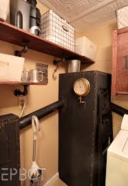 epbot steampunk laundry room reveal