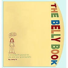 pregnancy journal book the belly book pregnancy journal groovy