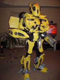 Bumblebee Transformer Halloween Costume Transformers Bumblebee Costume 11 Steps Pictures