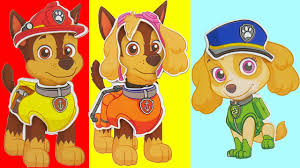 wrong heads paw patrol learn colors bad baby skye chase