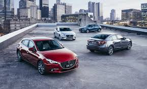 mazda small car models 2017 mazda 3 debuts with g vectoring control technology