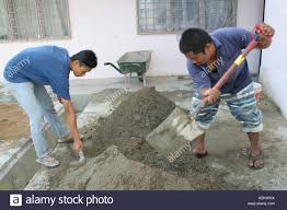 Cement Mix For Pointing Patio by Mixing Cement Stock Photos U0026 Mixing Cement Stock Images Alamy