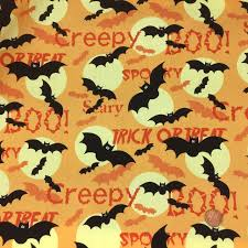 halloween bats cotton fabric online always knitting u0026 sewing shop