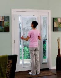 odl add on enclosed door blinds for french doors double doors