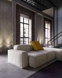 an industrial inspired apartment with sophisticated style
