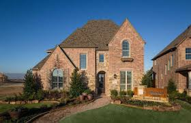 texas ranch homes model home in dallas fort worth texas prairie view community