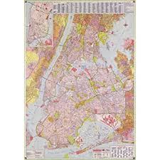map new york new york city subway map poster print nyc poster