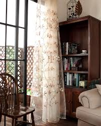 two leaf flower sheer curtains custom made to order upto