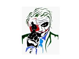 joker and batman tattoo design photos pictures and sketches