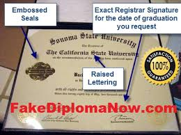 fake diplomas and counterfeit college transcripts that are