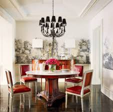 dining room wall paper bedroom wallpaper accent wall ornamental flowers dining table set