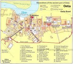 Map Of Ancient Italy by Map Of Ostia Antica Rome Italy All Travels Pinterest