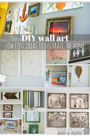 diy wall art ideas for the home u2022 our house now a home