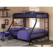Eclipse Twin Over Futon Metal Bunk Bed Multiple Colors Walmartcom - Full bed bunk bed