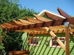 round cedar deck and pergola deck masters llc portland or