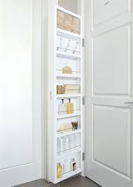 Behind Bathroom Door Storage Behind Door Storage Cabinet With Full Length Mirror Over The Door
