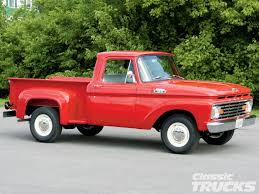 Old Ford Truck Types - 1963 ford f 100 rod network