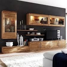 Wohnzimmer Massivholz Wohnwand Massivholz Atemberaubende Auf Wohnzimmer Ideen Mit Iii