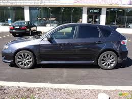 grey subaru impreza hatchback 2009 dark gray metallic subaru impreza wrx wagon 18236308