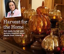 valerie parr hill home decorations accents qvc autumn