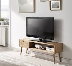 meuble design vintage hogar24 es meuble tv salon design vintage tiroir et étagère en