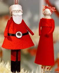 clothespin doll ornaments u0026 video martha stewart