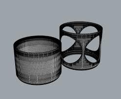 modular cactus planter 5 3d print model cgtrader