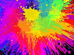 vector color paint splashing effect free vector in encapsulated