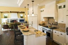 interior design for small living room and kitchen open kitchen in small house home design by