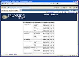 cognos report design document template designing effective ibm cognos report studio templates ironside