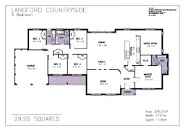 house plans with 5 bedrooms interesting one story farmhouse house plans images best
