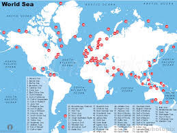 the sea map seas of the map h20