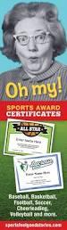 fantasy football certificates for