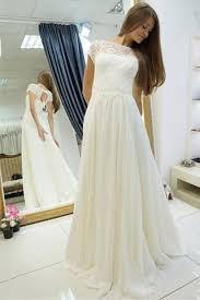 cap sleeve wedding dress a line wedding dress cap sleeve chiffon wedding gown with
