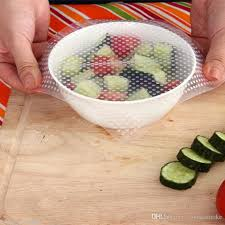 silicone cuisine discount transparent silicone food wrap stretch fresh silicone food