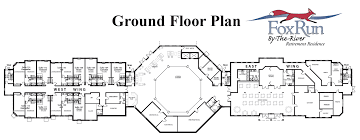 fox run by the river floor plans