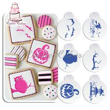cake decorating stencil picture more detailed picture about 6pcs