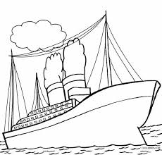 coloring pages of the titanic ship coloring pages transportation printable coloring pages
