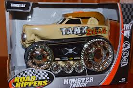 toy monster jam trucks road rippers tankzilla monster truck review surviving a