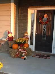 Pictures Of Front Porches Decorated For Fall - adorning and decorating the front porch for fall