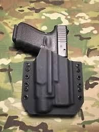 Tlr3 Light Black Kydex Light Bearing Holster Glock 19 23 32 Streamlight Tlr 3
