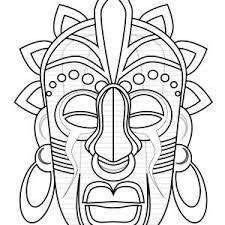 coloriages masques imprimer resultats daol image search coloriage