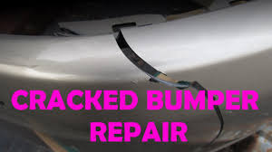 diy bumper repair youtube