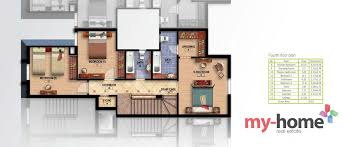 layout of villa park i villa b roof middle prime location in mountain view hyde park new