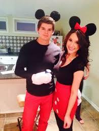 Minnie Mouse Womens Halloween Costume Mickey Minnie Mouse Halloween Couple Costume Clever Ideas