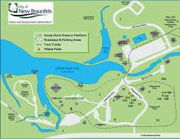 Texas Beaches Map Landa Park New Braunfels Tx Official Website